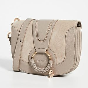 See by Chloe Hana Small Bag in Motty Grey